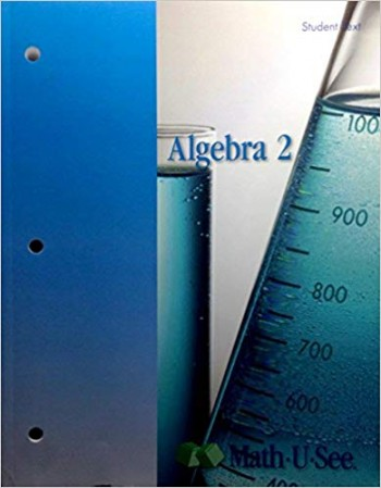 Image for Algebra 2 Math u see Student Text