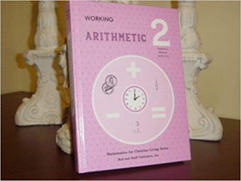 Image for Working Arithmetic 2, Teacher's Manual Unit 3-5
