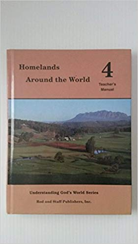 Image for Homelands Around the World 4 Teacher's Manual