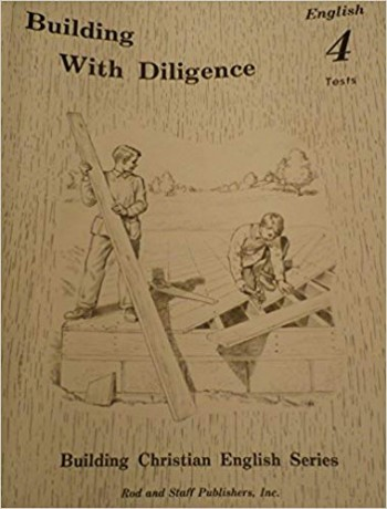 Image for Building with Diligence English 4 Tests