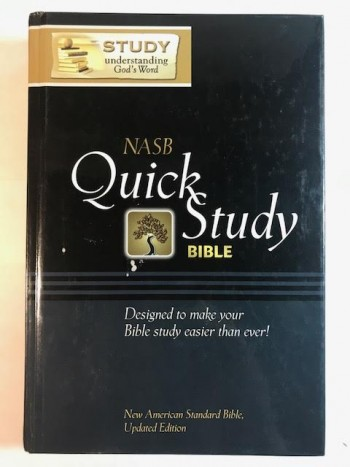 Image for Quick Study Bible: New American Standard Bible, Making Bible Study Easy