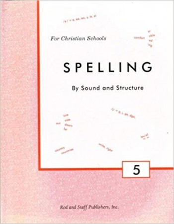 Image for Spelling - By Sound and Structure - Grade 5