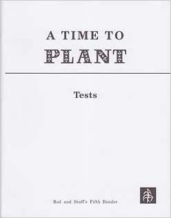 Image for A Time to Plant Grade 5 Reading Workbook Tests