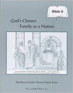 Image for God's Chosen Family as a Nation Grade 6 Bible Workbook