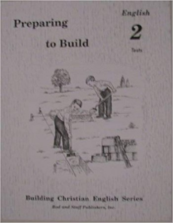 Image for Preparing to Build: English 2 Tests (Building Christian English Series)