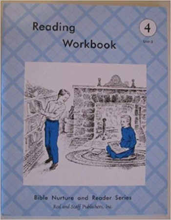 Image for Reading Workbook Grade 4, Unit 3, Bible Nurture and Reader Series