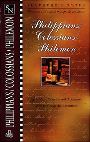 Image for Shepherd's Notes: Philippians, Colossians & Philemon
