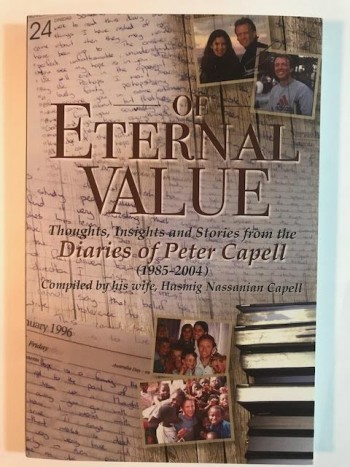 Image for Of Eternal Value: Thoughts, Insights and Stories from the Diaries of Peter Capell (1985-2004)