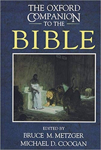 Image for The Oxford Companion To The Bible
