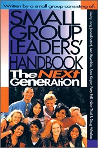 Image for Small Group Leaders Handbook:  The Next Generation