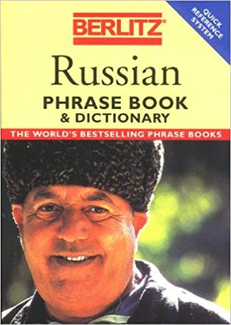 Image for Berlitz Russian Phrase Book & Dictionary