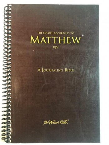 Image for The Gospel according to Matthew KJV:  A Journaling Bible