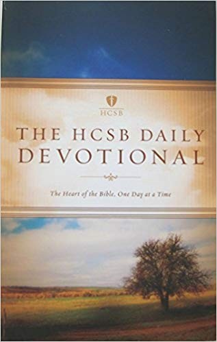 Image for The HCSB Daily Devotional; The Heart of the Bible One Day at a Time