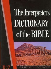 Image for The Interpreter's Dictionary of the Bible R - Z (An Illustrated Encyclopedia)