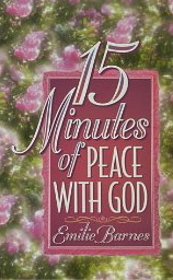 Image for 15 Minutes of Peace With God