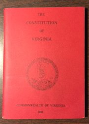 Image for The Constitution of Virginia