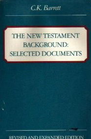 Image for New Testament Background: Selected Documents