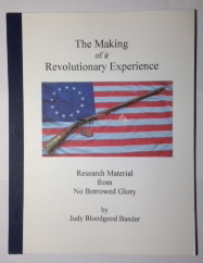 Image for The Making of a Revolutionary Experience: Research Material From No Borrowed Glory