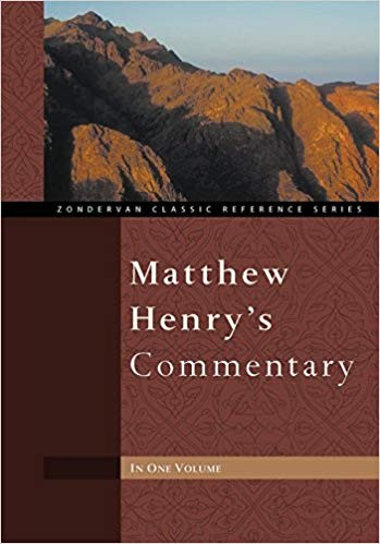Image for Matthew Henry's Commentary In One Volume:  Zondervan Classic Reference Series