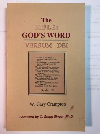 Image for The Bible:  God's Word