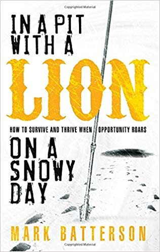 Image for In A Pit With A Lion On A Snowy Day:  How To Survive And Thrive When Opportunity Roars