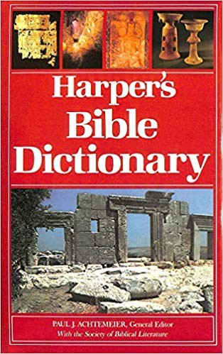 Image for Harper's Bible Dictionary