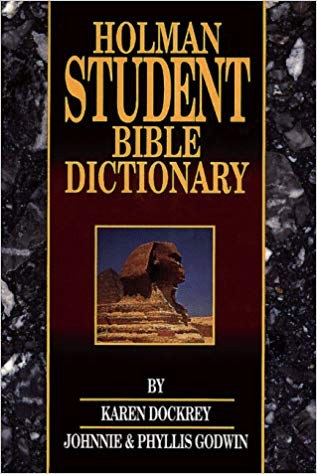 Image for Holman Student Bible Dictionary