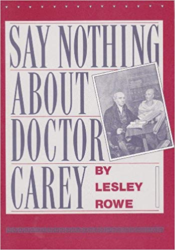 Image for Say Nothing About Doctor Carey