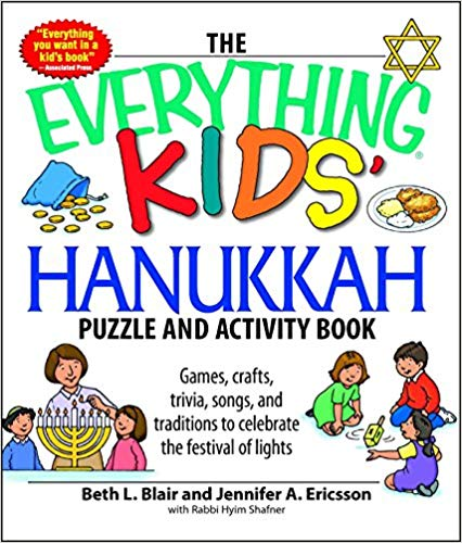 Image for The Everything Kids' Hanukkah Puzzle & Activity Book: Games, crafts, trivia, songs, and traditions to celebrate the festival of lights!