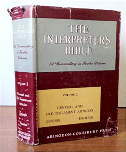 Image for The Interpreter's Bible: General And Old Testament Articles Genesis Exodus