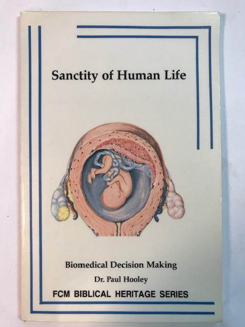 Image for Sanctity Of Human Life