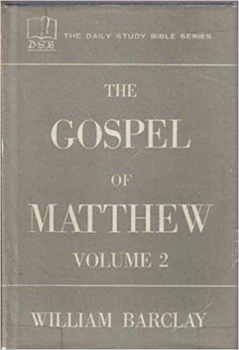 Image for The Gospel Of Matthew (Volume 2)