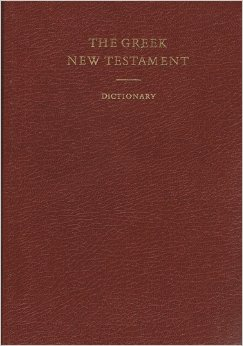 Image for The Greek New Testament (w/ Dictionary)