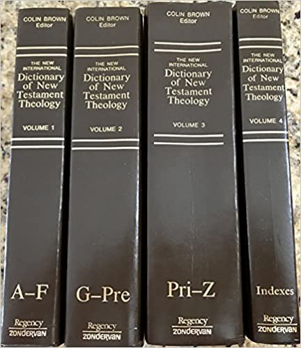 Image for The New International Dictionary of New Testament Theology, Complete 3 Volume Set plus Index Volume 4