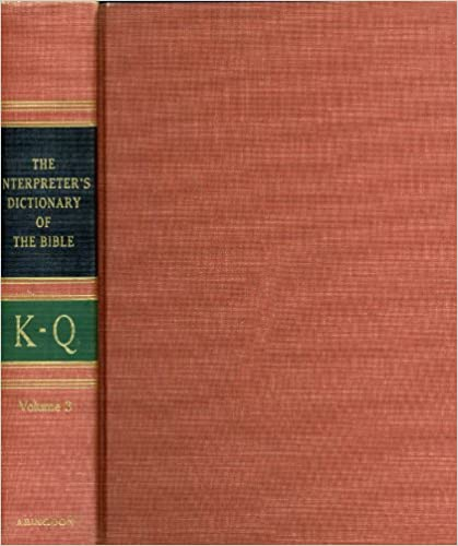 Image for The Interpreter's Dictionary of the Bible, Volume 3: K - Q