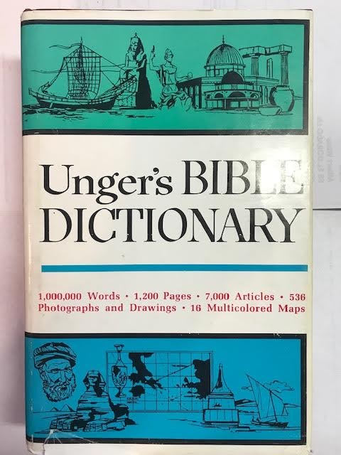 Image for Unger's Bible Dictionary
