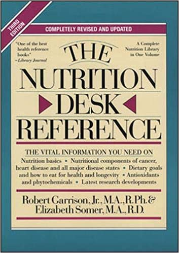 Image for The Nutrition Desk Reference