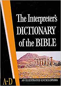 Image for The Interpreter's Dictionary Of The Bible (Volume 1, A-D)