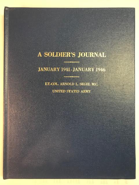 Image for A Soldier's Journal:  January 1941 - January 1946