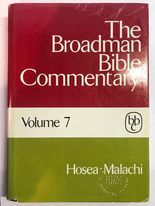 Image for The Broadman Bible Commentary: Hosea - Malachi (Volume 7)
