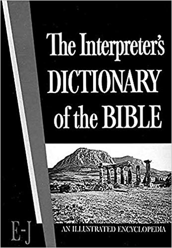 Image for Interpreter's Dictionary of the Bible Vol II E - J