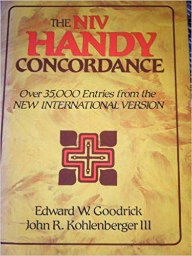 Image for The NIV Handy Concordance:  Over 35,000 Entries From The New International Version
