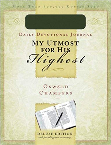 Image for My Utmost For His Highest:  Daily Devotional Journal