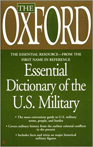 Image for Essential Dictionary Of The U.S. Military