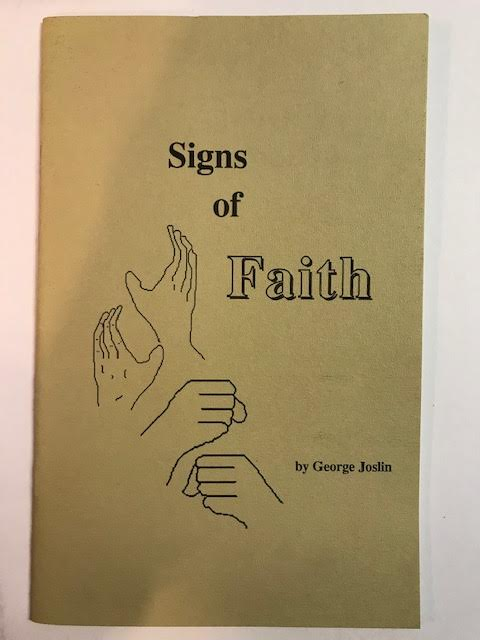 Image for Signs Of Faith