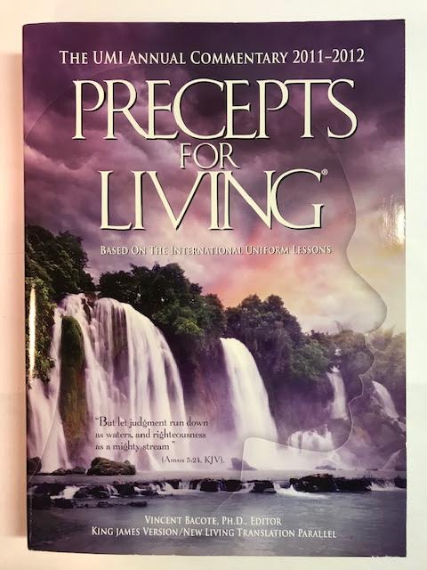 Image for Precepts for Living 2011-2012