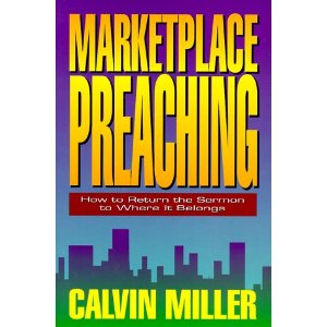 Image for Marketplace Preaching: How to Return the Sermon to Where it Belongs.