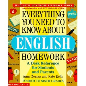 Image for Everything You Need to Know About English Homework